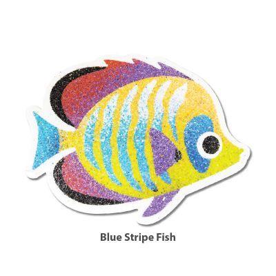 5-in-1 Sand Art Fish Board - Blue Stripe Fish