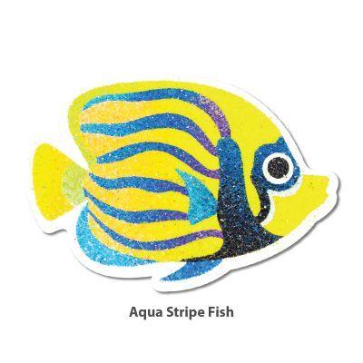 5-in-1 Sand Art Fish Board - Aqua Stripe Fish