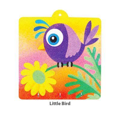 Sand Art Key Hanger Board Kit - Little Bird