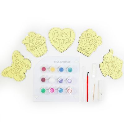 5-in-1 Sand Art Mother's Day Board Kit - Contents