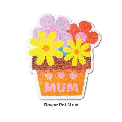 5-in-1 Sand Art Mother's Day Board - Flower Pot Mum5-in-1 Sand Art Mother's Day Board - Loose