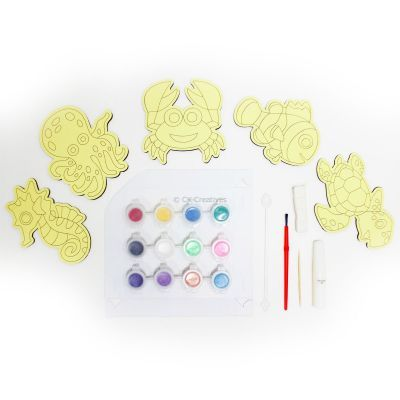5-in-1 Sand Art Sealife Board  Kit - Contents