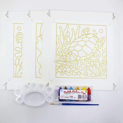 Batik Painting 3-in-1 Kit - Seaworld! - Contents