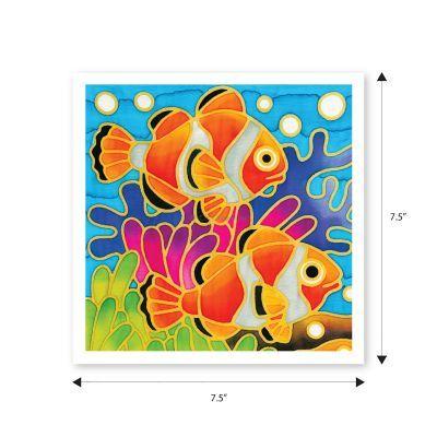 Batik Painting 3-in-1 Kit - Seaworld! - Size
