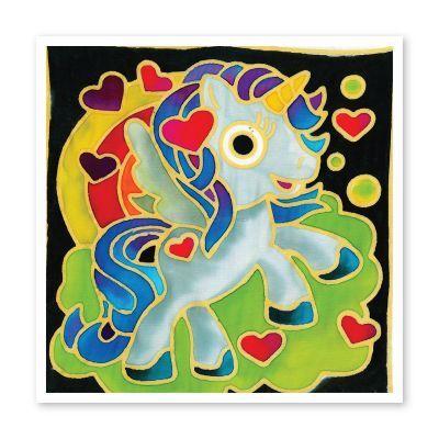 Batik Painting 3-in-1 Kit - Unicorns!