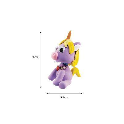 Unicorn Friends Clay Pencil Topper Size