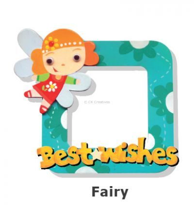 Create Your Own Photo Frame Kit - Fairy