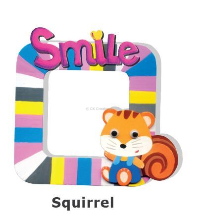 Create Your Own Photo Frame Kit - Squirrel