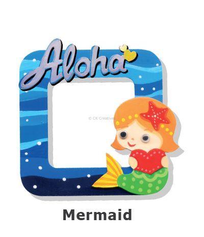 Create Your Own Photo Frame Kit - Mermaid