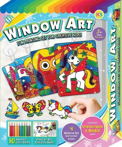 Window Art Fun Painting Box Set