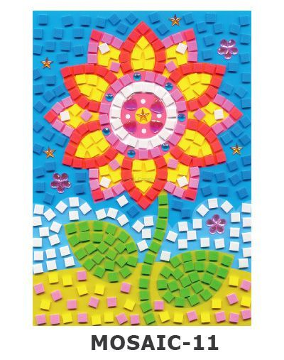 Mosaic Foam - Flower