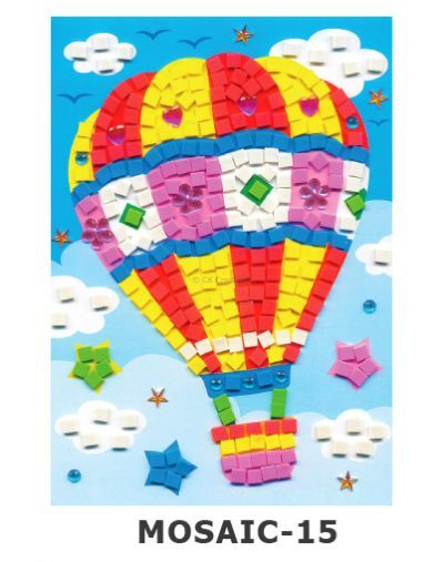 Mosaic Foam - Hot-air Balloon