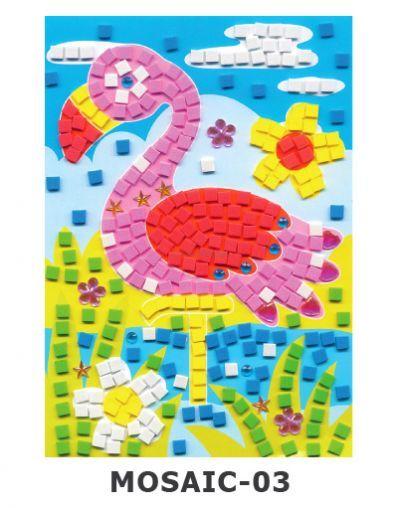 Mosaic Foam - Flamingo