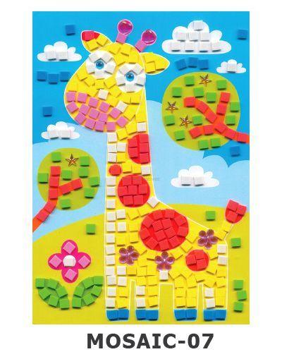 Mosaic Foam - Giraffe