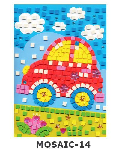 Mosaic Foam - Car
