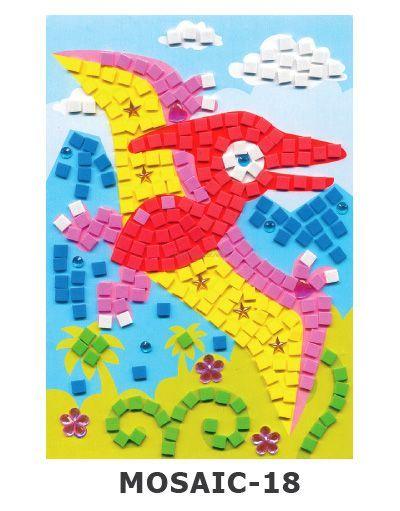 Mosaic Foam - Dino Pterodactyl