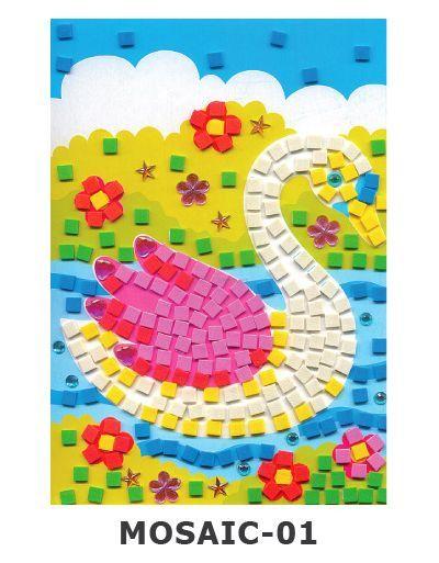 Mosaic Foam - Swan