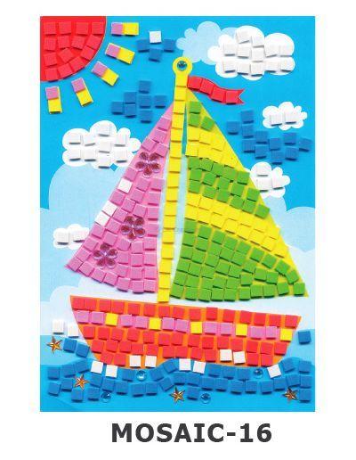 Mosaic Foam - Boat