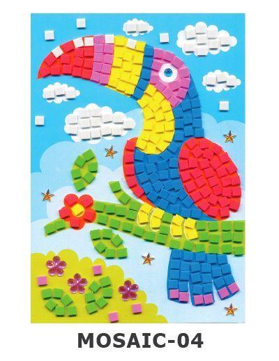 Mosaic Foam - Hornbill / Burung Enggang