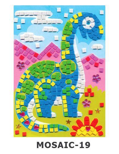 Mosaic Foam - Dino Apatosaurus