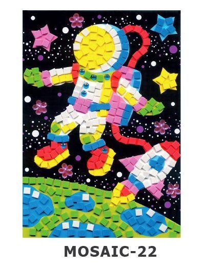 Mosaic Foam - Astronaut