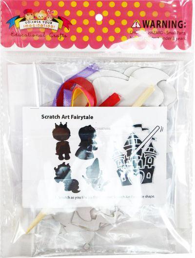 Scratch Art Fairytale Kit