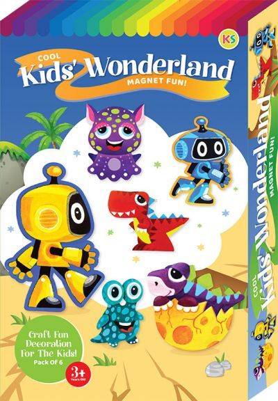 Cool Kids' Wonderland Magnet Fun Box Kit - 6-in-1