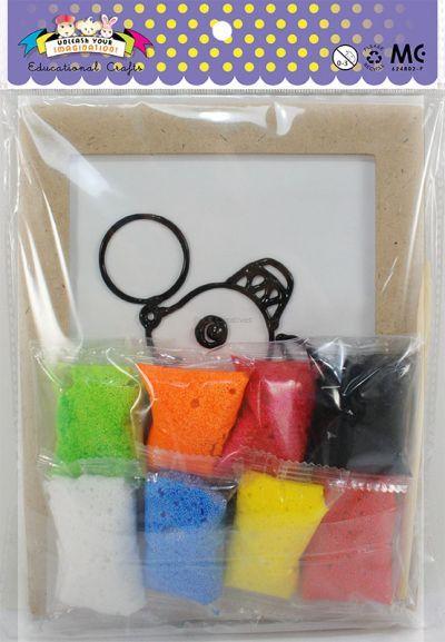 Foam Clay Deco Kit - Packaging Back