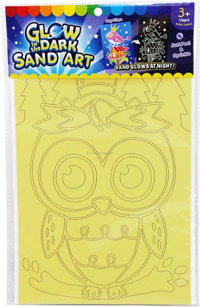 Glow-in-the-Dark Sand Art Kit