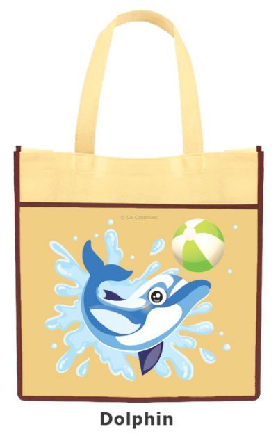 DIY Animal Tote Bag - Dolphin