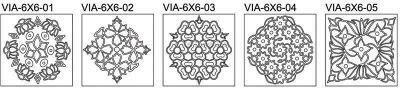 """Rangoli Sand Art - 6"""" x 6"""""""